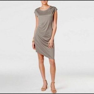 Bar III Asymmetrical Sheath Dress